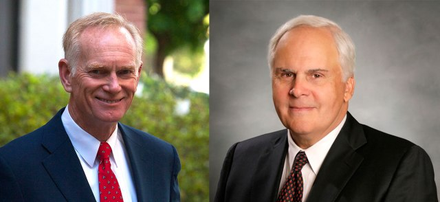 Tim Williams & Frederick W. Smith - 2016 Commencement Speakers