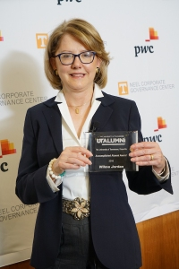 WILMA JORDON WITH AWARD small